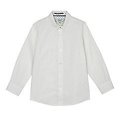 Baker by Ted Baker - Boys' white textured shirt