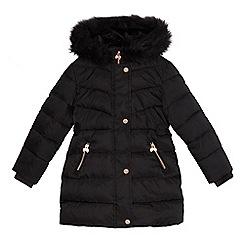 Baker by Ted Baker - Girls' black padded coat