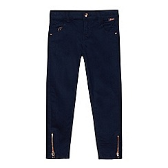 Baker by Ted Baker - Girls' blue zip hem jeans