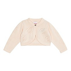 Baker by Ted Baker - Baby girls' light pink cropped cardigan