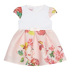 Baker by Ted Baker - Baby girls' light pink floral print dress