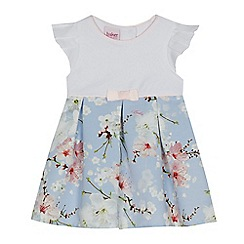 Baker by Ted Baker - Baby girls' light blue mockable dress