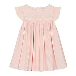 Baker by Ted Baker - 'Baby girls' pink plisse dress