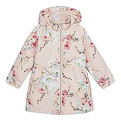 Baker by Ted Baker - Girls' light pink floral print jacket