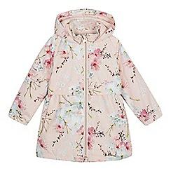 Baker by Ted Baker - Girls' light pink floral print jacket