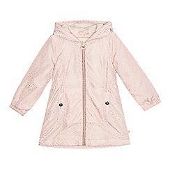 Baker by Ted Baker - 'Girls' light pink foil-effect spotted jacket