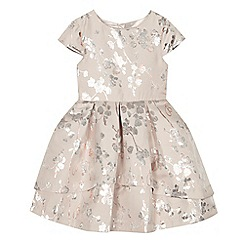 Baker by Ted Baker - 'Girls' foil-effect blossom print dress