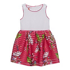 83910720bff628 Baker by Ted Baker -  Girls  pink floral print dress