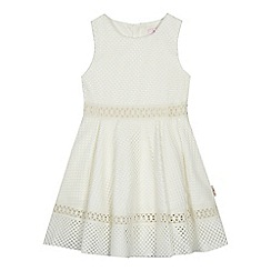 Baker by Ted Baker - 'Girls' white lace prom dress