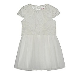 Baker by Ted Baker - Girls' off white lace dress
