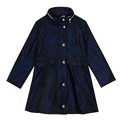 Baker by Ted Baker - Girls' navy shower resistant jacket