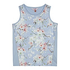 Baker by Ted Baker - 'Girls' lilac floral print vest top