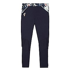 Baker by Ted Baker - Girls' navy floral print leggings
