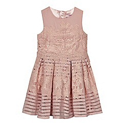 Baker by Ted Baker - 'Girls' pink lace prom dress
