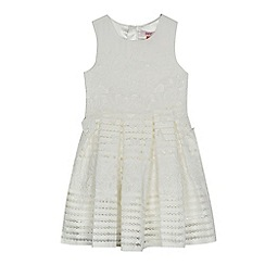Baker by Ted Baker - Girls' white lace prom dress
