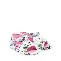 Baker by Ted Baker - 'Baby girls' white sandals