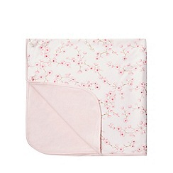 Baker by Ted Baker - Baby girls' pink floral print blanket