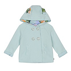 Baker by Ted Baker - 'Baby girls' light green quilted jacket