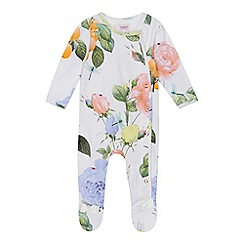 Baker by Ted Baker - Baby girls' rose print sleepsuit