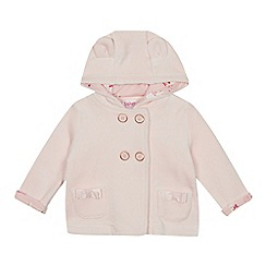 Baker by Ted Baker - Baby girls' light pink velour jacket