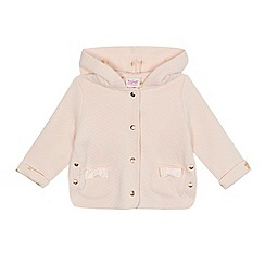 Baker by Ted Baker - Baby girls' light pink quilted jacket