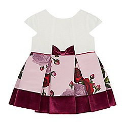 Baker by Ted Baker - Baby Girls' Light Pink Floral Print Dress