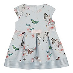0350fe7a66af1 Baker by Ted Baker - Baby Girls  Scuba Butterfly Print Dress