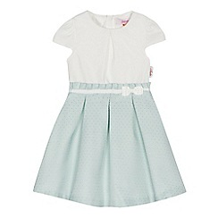 Baker by Ted Baker - 'Girls' white mockable dress