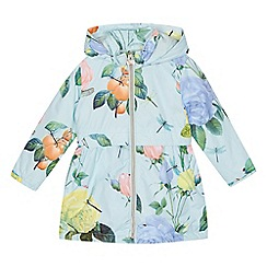 Baker by Ted Baker - 'Girls' pale green floral print jacket