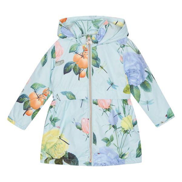 Baker by Ted Baker - 'Girls' pale green floral print jacket