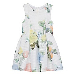 Baker by Ted Baker - Girls' off white rose print dress