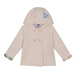Baker by Ted Baker - 'Girls' light pink quilted jacket