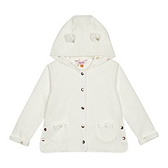 Baker by Ted Baker - Girls' white quilted jacket