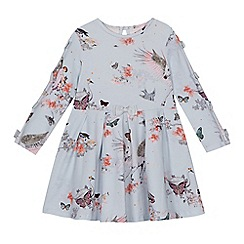 Baker by Ted Baker - Girls' light blue printed dress