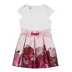 98b5a4c5073e9d Baker by Ted Baker - Girls  Light Pink Floral Print Dress