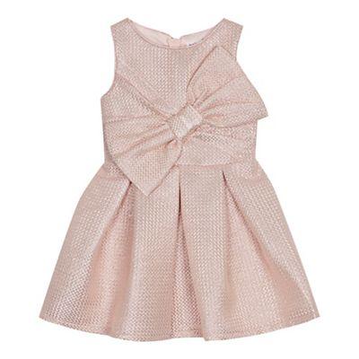 342d0d0ef Baker by Ted Baker Girls  light pink shimmer prom dress