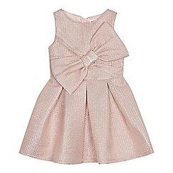 9778260e281886 Baker by Ted Baker - Girls  light pink shimmer prom dress
