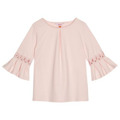 Baker By Ted Baker   'girls' Pink Pleated Back Top by Baker By Ted Baker