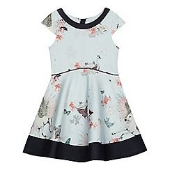 a19ab6bb8 Baker by Ted Baker -  Girls  pale green floral print dress
