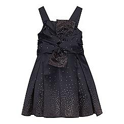 Baker by Ted Baker - Girls' navy diamante prom dress