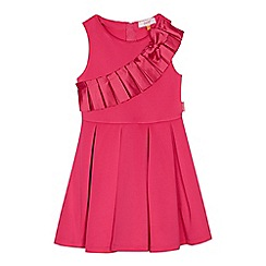 Baker by Ted Baker - Girls' pink pleat front dress