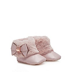2197b9d9b Baker by Ted Baker - Baby girls  light pink boots