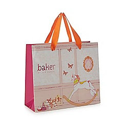 Baker by Ted Baker - 'Girls' light pink gift bag