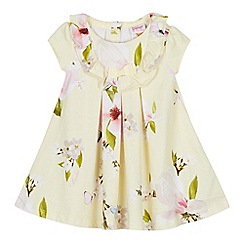 Baker by Ted Baker - Baby Girls' Light Yellow 'Harmony' Dress