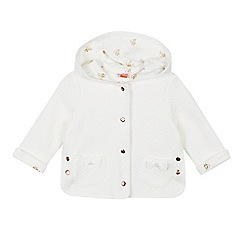 Baker by Ted Baker - Baby Girls' White Quilted Jacket