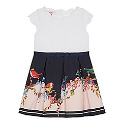 Baker by Ted Baker - Girls' Navy Bird Print Dress