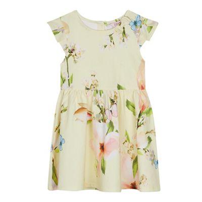 0b05401d5d726f Baker by Ted Baker - Girls  Yellow Floral Dress