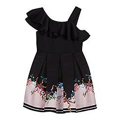 420e664f7b7240 Baker by Ted Baker - Girls  Light Pink Floral Print Mockable Dress
