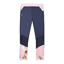 Baker by Ted Baker - Girls' Light Pink Floral Print Leggings