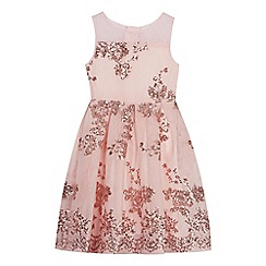 Baker by Ted Baker - Girls' Light Gold Sequin Dress